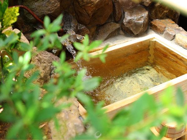 檜の露天風呂付き客室