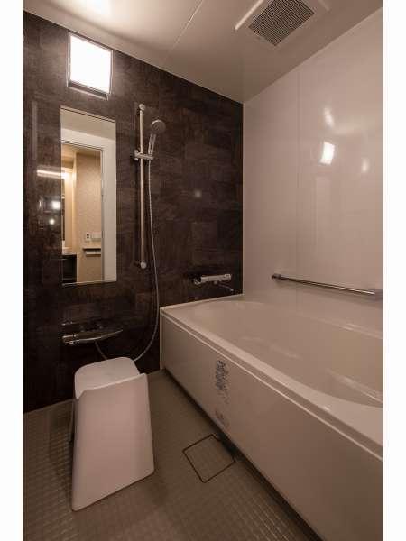 【シングルルーム】バスルーム・トイレは別々に完備し家庭にいるような快適さを提供