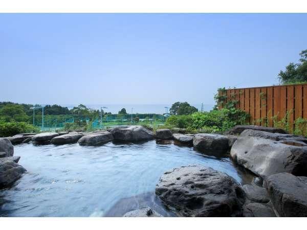 湯元小豆島温泉■露天風呂より瀬戸内海を望む