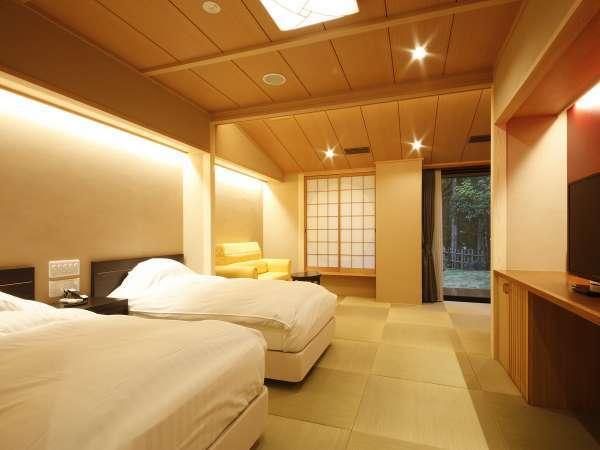 【つづみ桜】温泉付き客室(金銀混合泉)