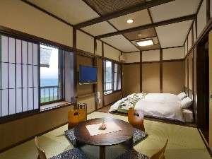 リニューアルされた海側客室【海音】のお部屋