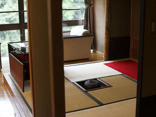 特別室(茶室付き和室)一例