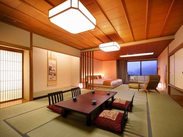 【和洋室】和室15畳+ツイン(禁煙) 3階~5階 (一例)