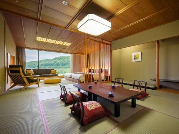 【和洋室】和室12畳+ツイン(禁煙) 6階~10階 (一例)