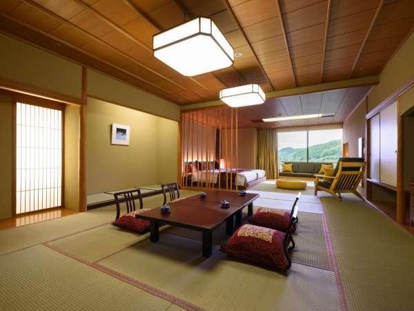 【和洋室】和室15畳+ツイン(禁煙) 6階~10階(一例)