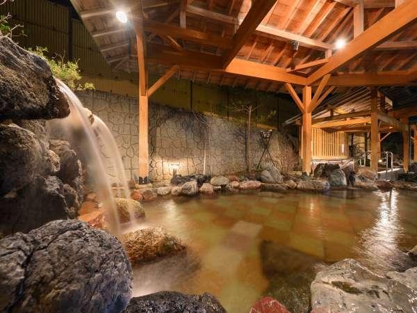 温泉露天風呂「打たせ湯」
