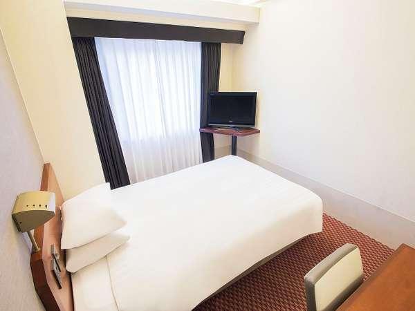 ■シングルルーム一例:120cm幅ベッド[15平米]