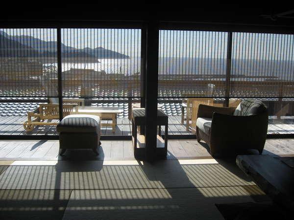 駿河湾一望 専用露天風呂付き離れ客室一例【橙-だいだい】