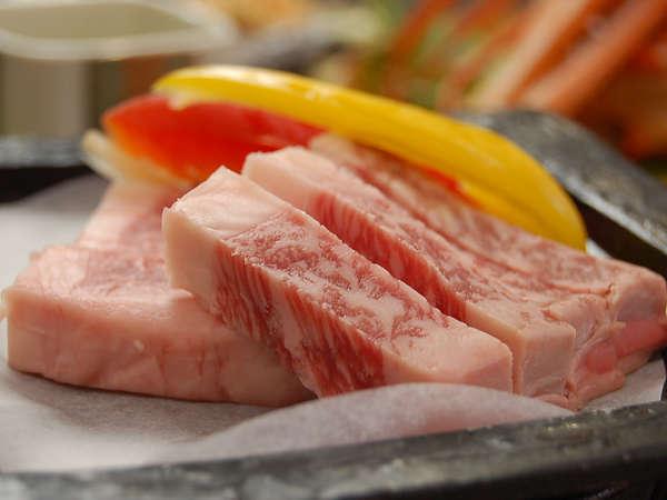 「牛ロースステーキ」別注でのご注文も承ります!石特製たまり醤油のソースでどうぞ♪