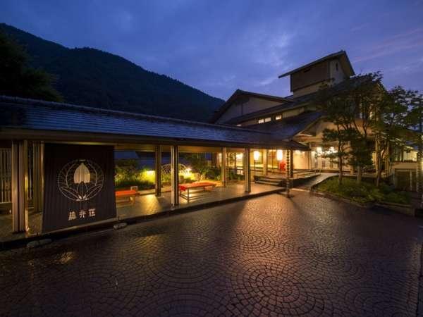 【外観】いつかは訪れたい伝統の信州旅館