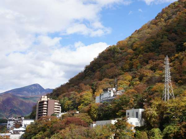 客室景観【秋】