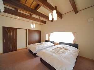 【和楽亭/幸】ベッドルーム