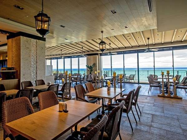 【ビュッフェレストラン シーフォレスト】朝食&夕食をごて提供しているカジュアルレストラン