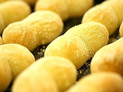 ★★大人気★★  いつも焼き立て!!ハイジの白パン。たくさんおかわりしてね