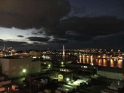 博多湾が望める素敵な景観です