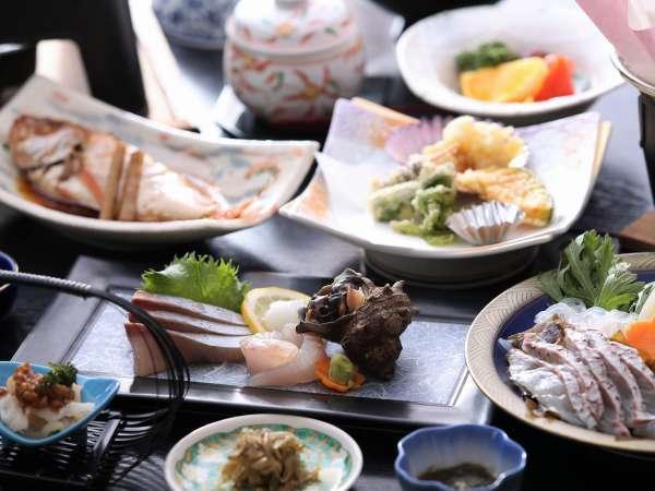◇《夕食一例》隠岐の島の海鮮をお召し上がりください♪