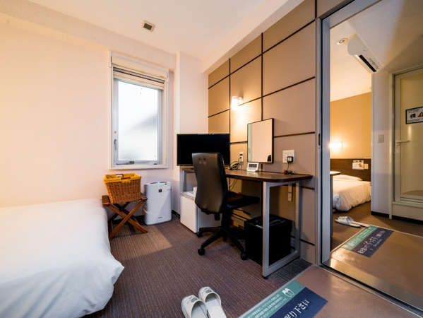 【コネクティングルーム】お部屋がつながります。各定員2名(添い寝も定員に数えます)