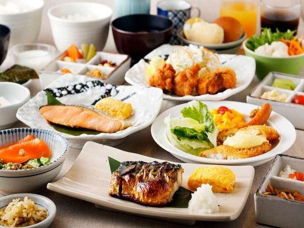 ご朝食(イメージ)4種類の定食メニューからお選び頂けます
