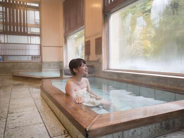 江戸時代から先祖伝聞で伝わる深さの、ぬる湯やあつ湯「瑞雲乃湯」