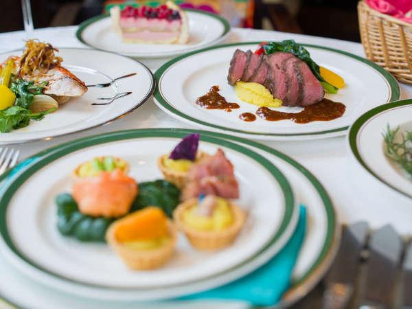 *【ディナー】お肉やお魚もも国内産のものを使用