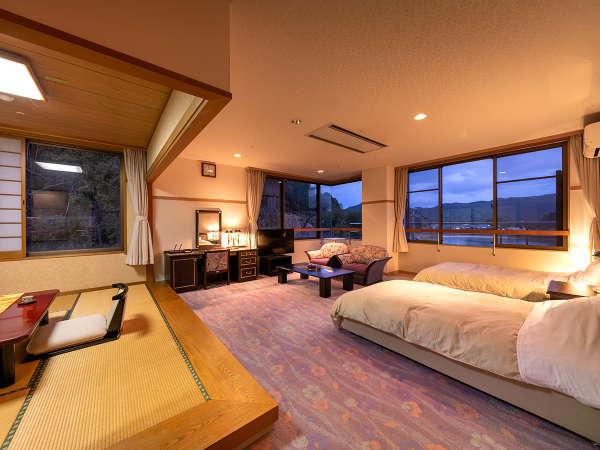 【山側‐和洋室】上質さと快適性を兼ね備えた特別室