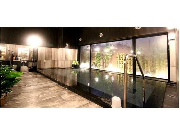 大浴場「旅人の湯」ご利用時間:15:00-2:00、5:00-10:00