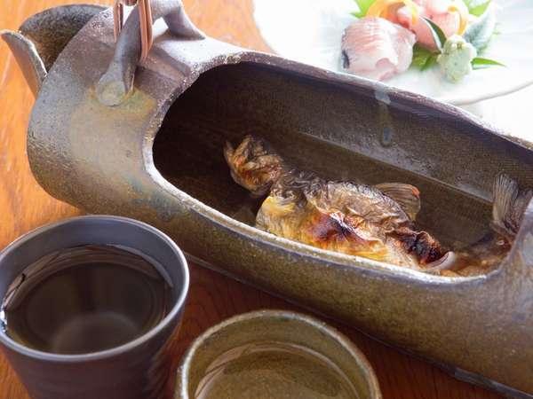 岩魚の骨酒(別注)