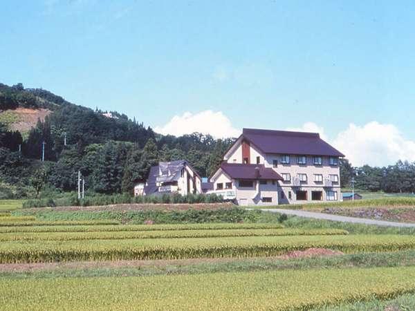 ※当館の周りには、田んぼや畑があり、四季を通じて自然を感じていただけます♪
