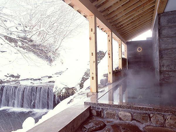 【ハチ北温泉 お宿 ひさ家】但馬の地産地消の会席と雪見露天風呂が自慢の宿!風呂口コミ4.8♪