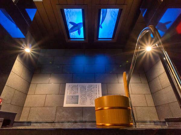 【Natural】奥湯河原の湯 温泉につかりながら上のパネルにご注目下さい