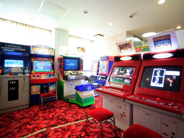 ■【ゲームコーナー】ちょっと懐かしいゲームがズラリ☆つい夢中になっちゃいますね!