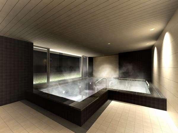 女性大浴場は女性専用客室フロアと同フロアにございますのでより安心してご利用いただけます