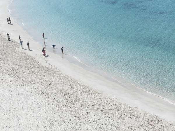 【オーシャンビュー】海の青く透明度が高い様子がわかります