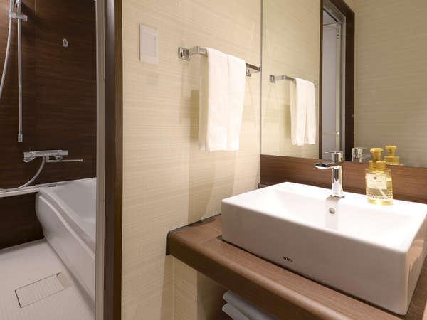デラックスツインルーム(独立洗面化粧台)