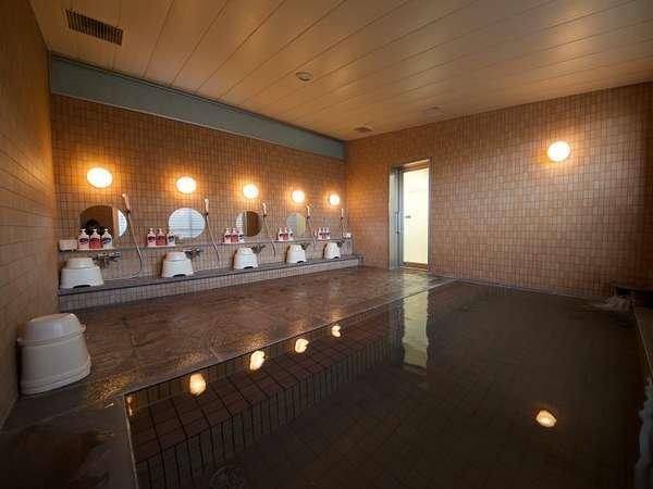 ホテルの大浴場です。宿泊のお客様は無料でご利用頂けます。