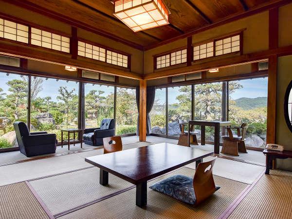 *【文豪の館】明治から昭和にかけて、多くの文豪に愛され、歴史を見守り続けてきた客室