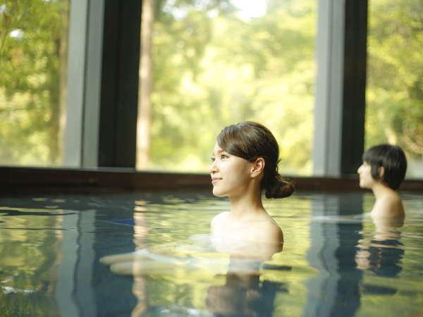 【大浴場「樹林の湯」】ご婦人浴場