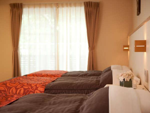 和室からツイン、ダブル、和洋室まで、全16タイプのお部屋をご用意。