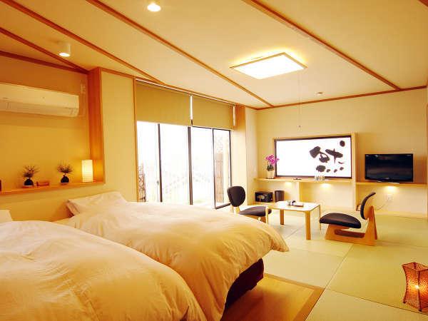 然-zen-  白木が明るさを引き立てる3F特別室