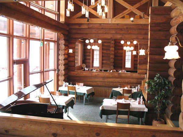 ◆本格ログのレストラン