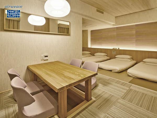 【禁煙】J-Styleファミリー(33平米)大人4名様でご宿泊可能!ファミリーもグループにもおすすめ!
