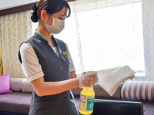 安全で清潔な環境を作り、快適なひとときをお過ごしいただけますよう準備をしてお待ちしております。