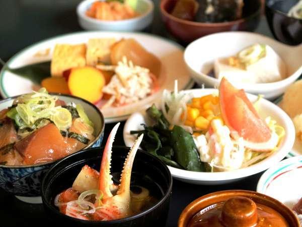 【朝食】地産地消北陸の味をご堪能下さい