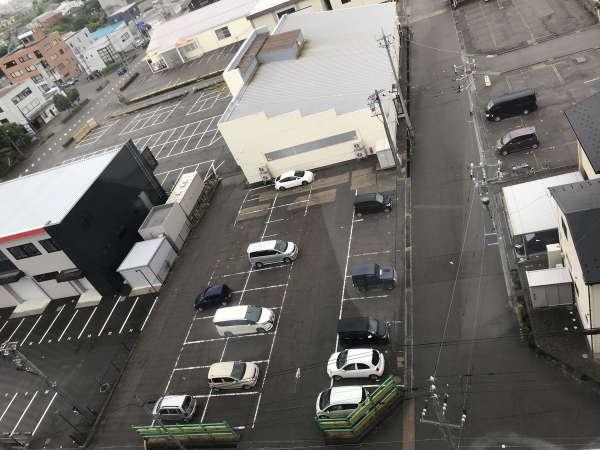 【駐車場】当館裏側駐車場