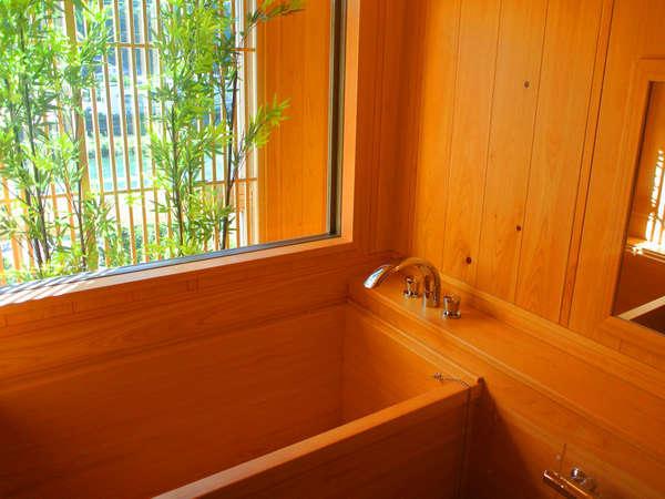 飛騨川を望む 展望檜風呂付 スイート和洋室 禁煙