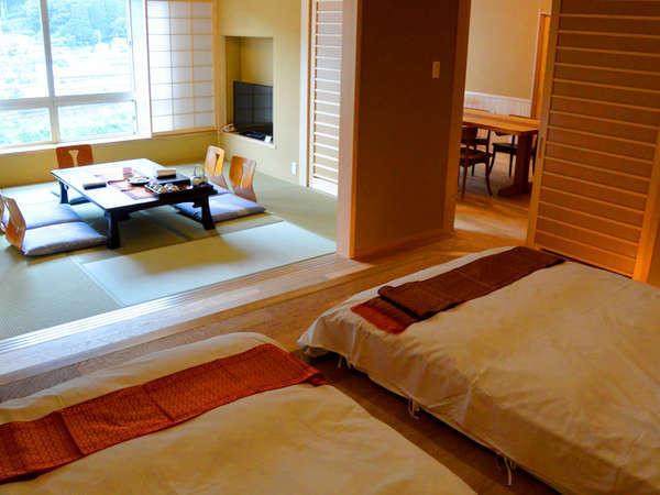 展望檜風呂付 スイート和洋室 禁煙 寝室 和室