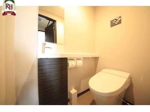 トイレ(ツインルーム)【おススメ】ツインルームはバストイレ別です!