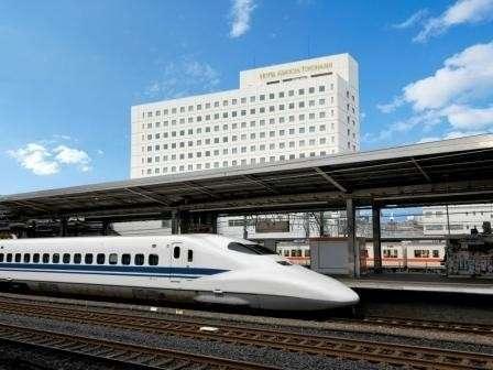 JR東海グループの【豊橋駅直結】シティホテルです♪レストラン3店舗やラウンジ、24H営業のコンビニあり