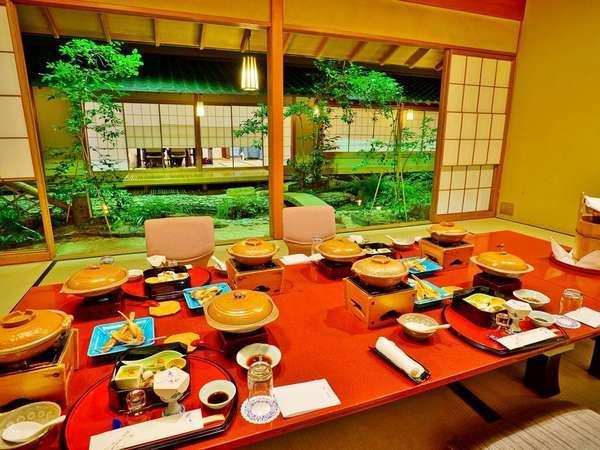【料亭・浮城】古き良き日本の魅力を再発見。完全個室のプライベートな空間