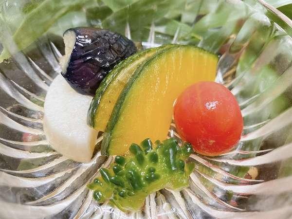 会津野菜そのままの美味しさを